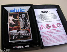 BRIQUET ZIPPO ELVIS PRESLEY ANCIEN DE COLLECTION