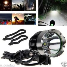3000 Lumens Waterproof CREE XM-L T6 SSC LED 3-Mode Bike Bicycle Front Head Torch