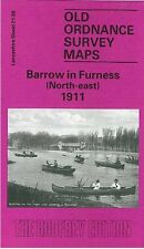 MAP OF BARROW IN FURNESS (NORTH EAST) 1911
