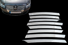 VW Passat 3C2 3C5 2005-2010 Chrome Front Grill Trim Cover Set Stainless Steel