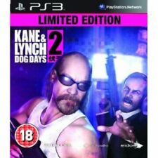 Kane & and Lynch 2 Dog Days Limited Edition Game PS3 Brand New