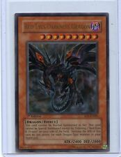 1996 YU GI OH RED EYES DARKNESS DRAGON 1ST EDITION HOLOFOIL ULTRA RARE SD1-EN001