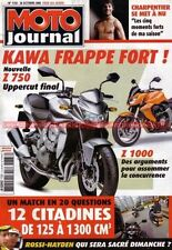MOTO JOURNAL 1733 KAWASAKI Z750 Z1000 YAMAHA FJR 1300 AS Tmax Triumph 2300