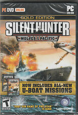 Silent Hunter Wolves of the Pacific PC Gold Edition includes U-Boot missions NEW