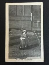 Vintage Circus Postcard - Martha Cockburn - Little People Midget