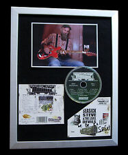 SEASICK STEVE+SIGNED+FRAMED+DOGHOUSE+CHEAP+SONIC=100% GENUINE+FAST GLOBAL SHIP
