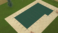 20'x40' ULTRA LITE SOLID Rectangle Swimming Pool Safety Cover w/Right 4'x8' Step
