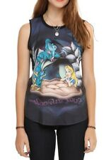 Disney Alice In Wonderland Who Are You? Muscle Tank Top Size XL New With Tags!