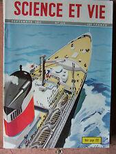 SCIENCE ET VIE N°420 (sept 1952) Piston libre - Avions et parachutistes