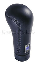 Nardi Shift/Shifter Knob - Prestige - Black Leather New