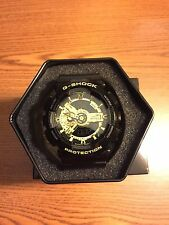 New Casio G-Shock GA110GB-1A Black/Gold Mens Ana-Digi Watch NWT!!!
