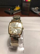 VINTAGE GRUEN PRECISION BIG SQUARE 17JEWEL SUB-DIAL WATCH IMMACULATE