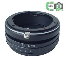 AI-NEX Tilt Lens Adapter for Nikon Ai Mount Lens to Sony NEX 7 A7R 3 5N Camera