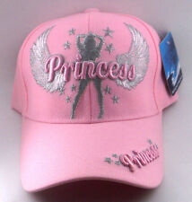Princess Angel Wings Stars Pink Hat Cap NWT