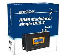 HDMI RF MODULATOR EDISION FULL HD TO DVB T FOR SAT,SKY,OSN,BEIN,DVR,BEST ON EBAY