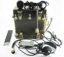 Russian USSR military Radio Station P-105M (portable Radio Transceiver )