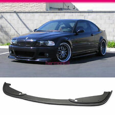 FIT FOR 01-06 BMW E46 M3 Coupe Covertible 2Dr Poly Urethane PU Front Bumper Lip