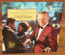 SAMMY KAYE & HIS ORCHESTRA - LET'S FACE THE MUSIC AND DANCE - JAZZ SWING POP  LP