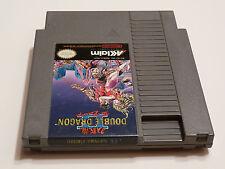 DOUBLE DRAGON II 2 Nintendo NES Game Cart Tested