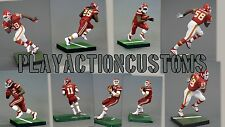 Choice of 1 Kansas City Chiefs Custom Action figure made w/ Mcfarlane NFL