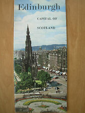 VINTAGE TOURIST BROCHURE EDINBURGH CAPITAL OF SCOTLAND 1959