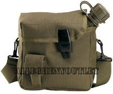 US Military 2 QUART COLLAPSIBLE CANTEEN BLADDER with GI Type 2QT OD COVER NEW