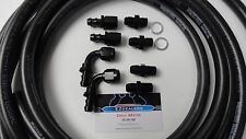 Automatic Transmission Cooler Line Kit -6AN Push Lock Hose Kit GM 4L60E 4L65E