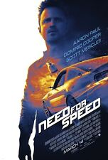 Need For Speed movie poster (a)  : 11 x 17 inches : Aaron Paul poster