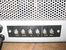 VINTAGE DuKane 1U460A  Tube Amplifier Guitar Bass MIC Amp
