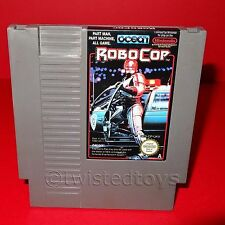 VINTAGE NINTENDO ENTERTAINMENT SYSTEM NES ROBOCOP CARTRIDGE VIDEO GAME PAL