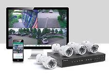 Videoüberwachung Komplettset mit 4x AHD Full HD 1080p Kameras 1TB 3 J. Garantie