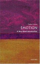 Very Short Introductions Ser.: Emotion by Simon Blackburn and Dylan Evans...