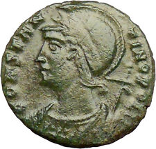 Constantine I the Great  Founds CONSTANTINOPLE 330AD Ancient Roman Coin  i29146