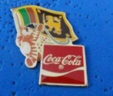 1988 Olympic Coca Cola Ltd Ed. Flag Pin - Sri Lanka