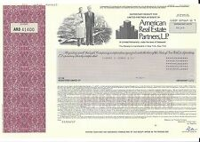 AMERICAN REAL ESTATE PARTNERS L.P......1989 CERTIFICATE