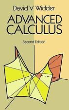 Dover Books on Mathematics: Advanced Calculus by David V. Widder (1989, Paperbac