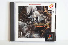 Akumajo Dracula X the Best Castlevania X Spine PS1 Good Japan Import US Seller