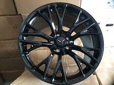 C7 ZO6 Corvette Factoy GM 20X12 19x10 Black Gloss Wheel rims 2015-16