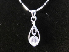Austrian Crystal 18k White Gold Plated Egytian Style Necklace & Earrings Set