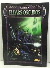 Warhammer 40000 40k Eldars oscuros codex games workshop suplemento libro book