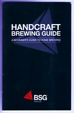 BEER BOOK BREWING GUIDE - STEP BY STEP HOW TO MAKE GREAT HOMEBREW BEERS AT HOME
