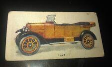 1924 FIAT 10-15hp  - Imperial Tobacco Co. CANADA  Cigarette Card RARE