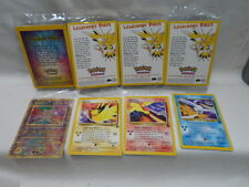 Pokemon Ancient Mew Articuno Moltres Zapdos Legendary Birds Promo Cards Set of 4