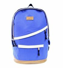 FLUD DIAGONAL ZIP BLUE BACKPACK SCHOOL BAG DAYPACK