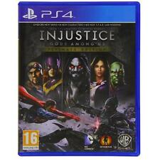 Injustice Gods Among Us Ultimate Edition for Playstation 4 PS4 NEW SEALED