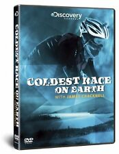 James Cracknell - Coldest Race on Earth (New DVD) Yukon Arctic Ultra Race