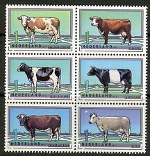 Nederland 2012 Rundveerassen 2973-2978  postfris