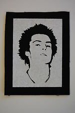 Sid Vicious Cloth Patch (CP202) Sex Pistols Dead Kennedys Fear Adicts Ramones