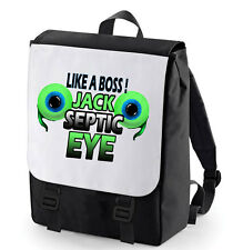 JACKSEPTICEYE BACKPACK PERFECT FOR SCHOOL YOUTUBE BAGBASE TWO EYE LIKE A BOSS