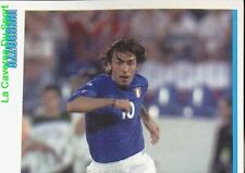 73 ANDREA PIRLO 1/2 AZZURRINI ITALIA UNDER 21 STICKER SUPER CALCIO 2001 PANINI